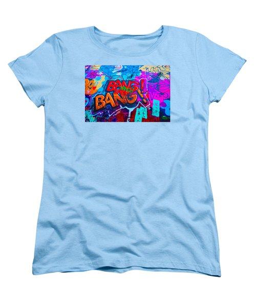 Bang Graffiti Nyc 2014 Women's T-Shirt (Standard Cut)