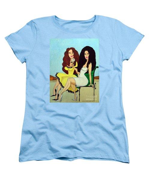 Barcelona Girls Women's T-Shirt (Standard Cut) by Don Pedro De Gracia