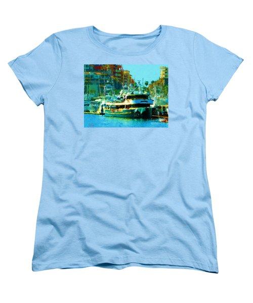 Barco En Cabo Marina II Women's T-Shirt (Standard Cut)