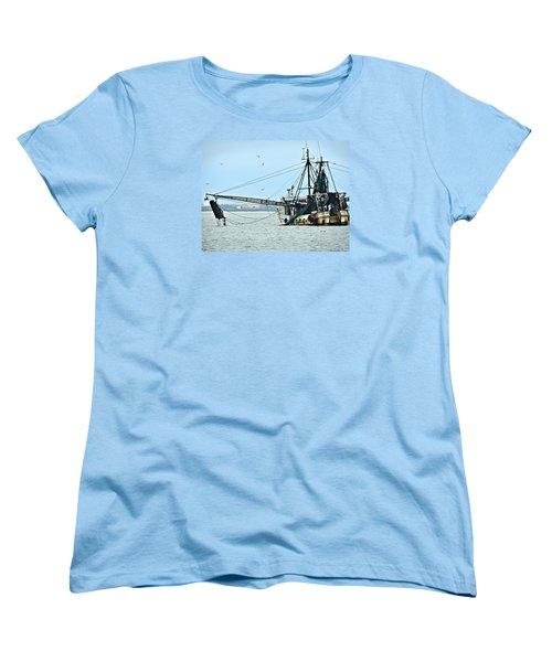 Barely Makin' Way Women's T-Shirt (Standard Cut) by Laura Ragland