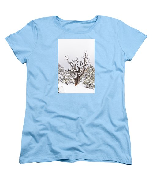Bark And White Women's T-Shirt (Standard Cut) by Laura Pratt