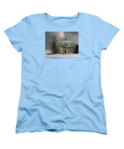 Barn And Sundog Women's T-Shirt (Standard Cut) by Kathy M Krause