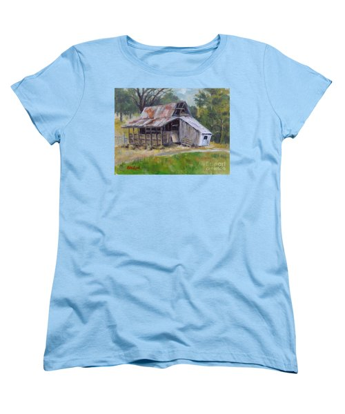 Barn Shack Women's T-Shirt (Standard Cut) by William Reed