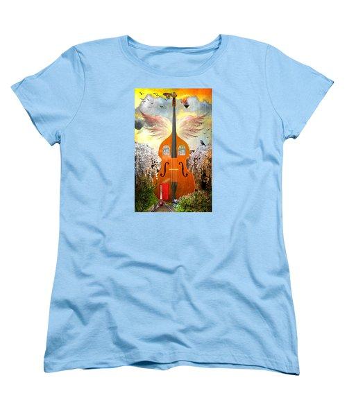 Basic Housing Women's T-Shirt (Standard Cut) by Ally  White
