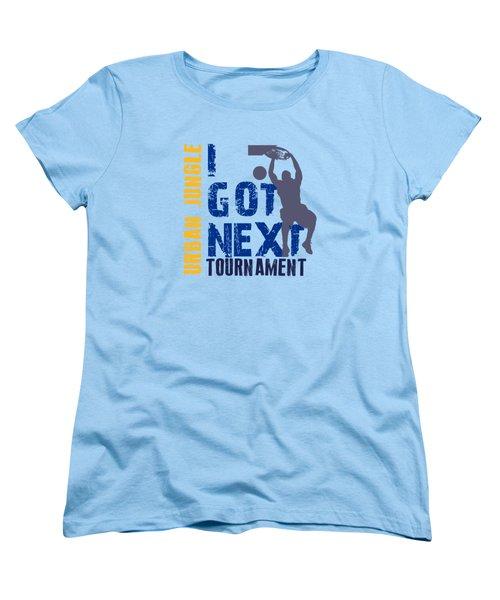 Basketball I Got Next 2 Women's T-Shirt (Standard Cut) by Joe Hamilton
