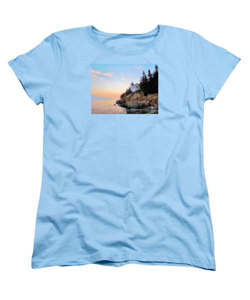 Bass Harbor Sunset II Women's T-Shirt (Standard Cut) by Elizabeth Dow