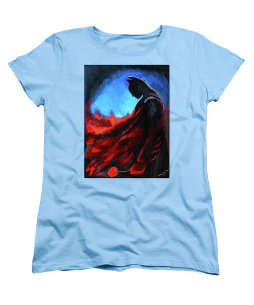 Batman's Mercy Women's T-Shirt (Standard Cut) by Brandy Nicole Neal