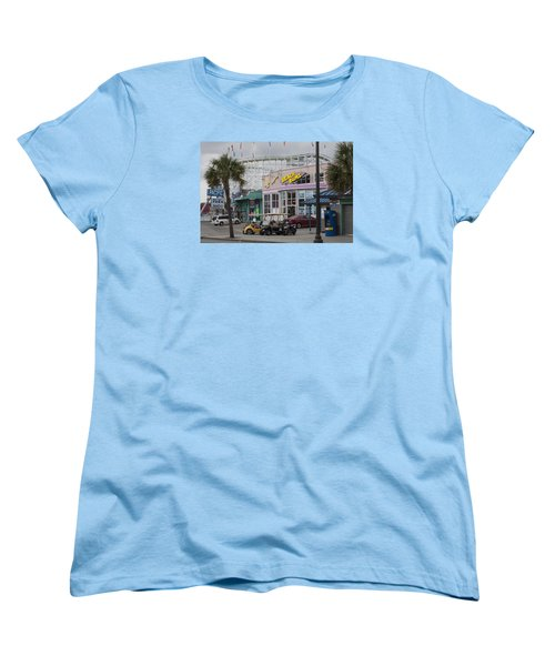 Beach Bums - Myrtle Beach South Carolina Women's T-Shirt (Standard Cut) by Suzanne Gaff