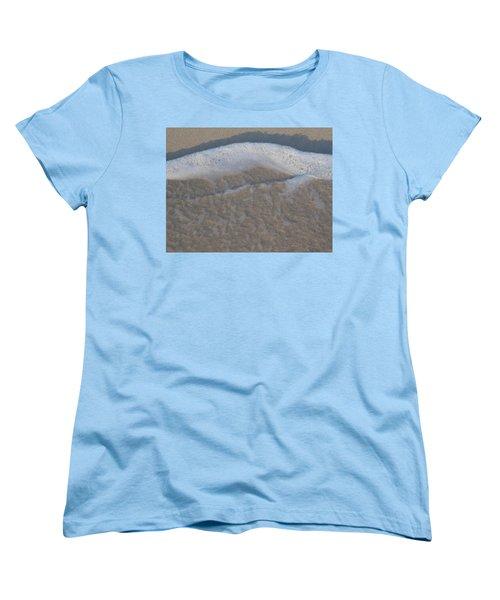 Beach Foam Women's T-Shirt (Standard Cut) by Margaret Brooks