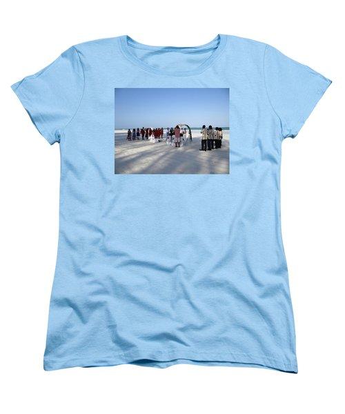 Beach Wedding In Kenya Women's T-Shirt (Standard Fit)