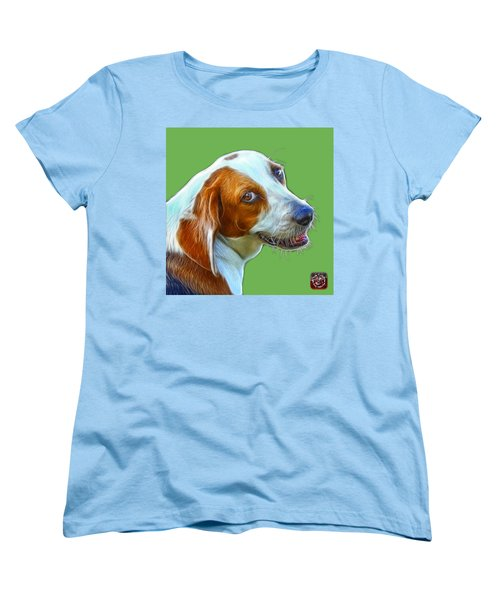 Beagle Dog Art- 6896 -wb Women's T-Shirt (Standard Cut) by James Ahn