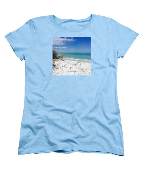 Bean Point, Anna Maria Island Women's T-Shirt (Standard Cut)