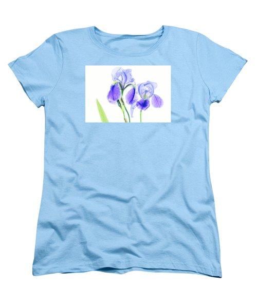 Bearded Iris Women's T-Shirt (Standard Cut) by Robert FERD Frank