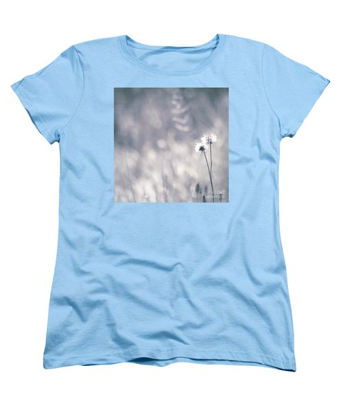 Women's T-Shirt (Standard Cut) featuring the photograph Beaute Des Champs - 0101 by Variance Collections