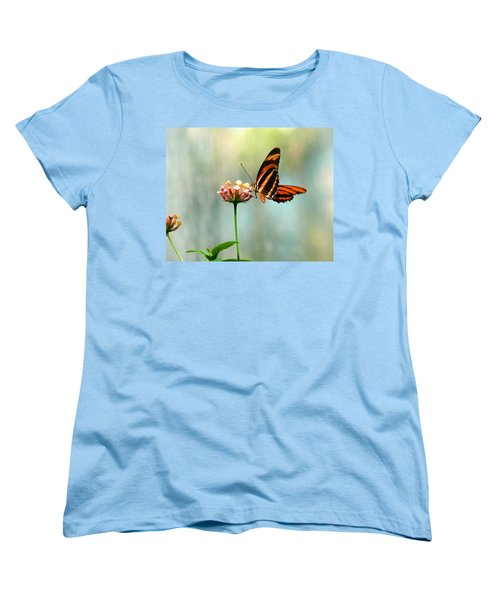Beautiful Butterfly Women's T-Shirt (Standard Cut) by Laurel Powell
