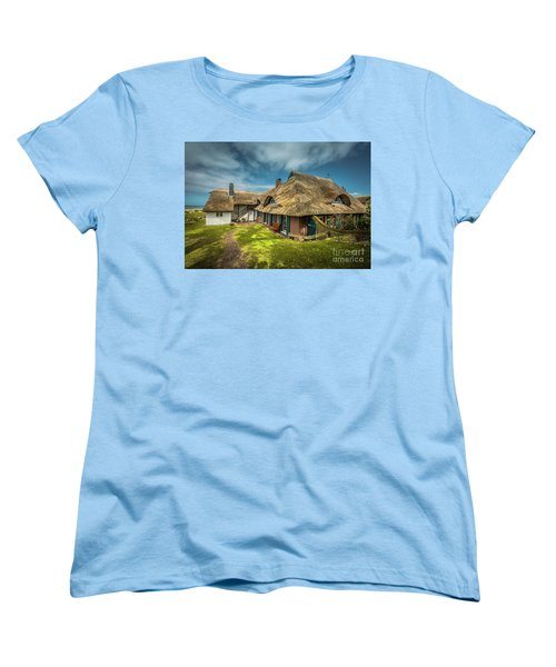 Beautiful Cottage Women's T-Shirt (Standard Cut) by Eva Lechner
