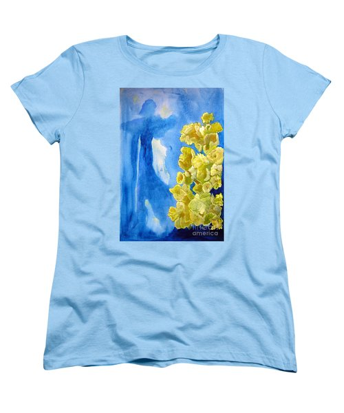 Women's T-Shirt (Standard Cut) featuring the painting Beautiful Dreamer by Sandy McIntire