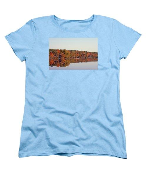 Beautiful Reflections Women's T-Shirt (Standard Cut) by Kay Novy