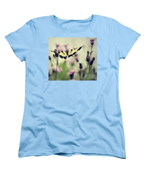 Women's T-Shirt (Standard Cut) featuring the photograph Beauty And Grace  by Kerri Farley