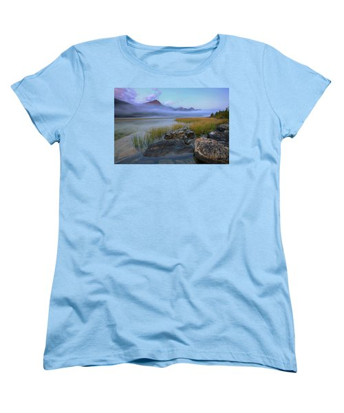 Beauty Creek Dawn Women's T-Shirt (Standard Cut) by Dan Jurak