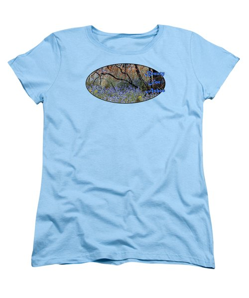 Beauty For Ashes Women's T-Shirt (Standard Cut) by Phyllis Denton