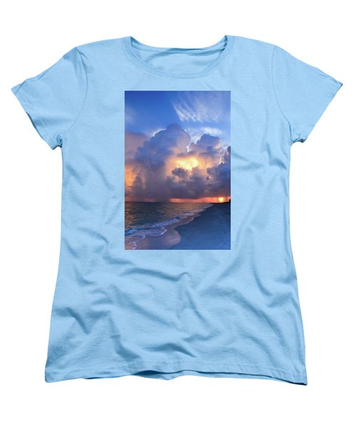 Women's T-Shirt (Standard Cut) featuring the photograph Beauty In The Darkest Skies II by Melanie Moraga