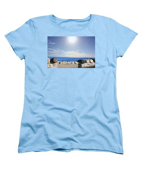 Beauty In The Distance Women's T-Shirt (Standard Cut) by Judy Palkimas
