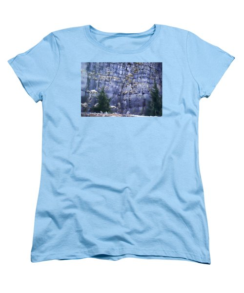 Women's T-Shirt (Standard Cut) featuring the photograph Beauty Of The Gorge by Dale Stillman