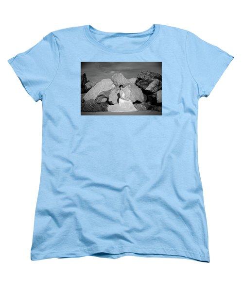 Beauty On The Rocks Women's T-Shirt (Standard Cut)
