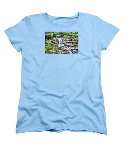 Becky Branch Falls In Summer Women's T-Shirt (Standard Cut) by James Potts