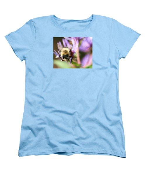 Bee Mustache Women's T-Shirt (Standard Cut)