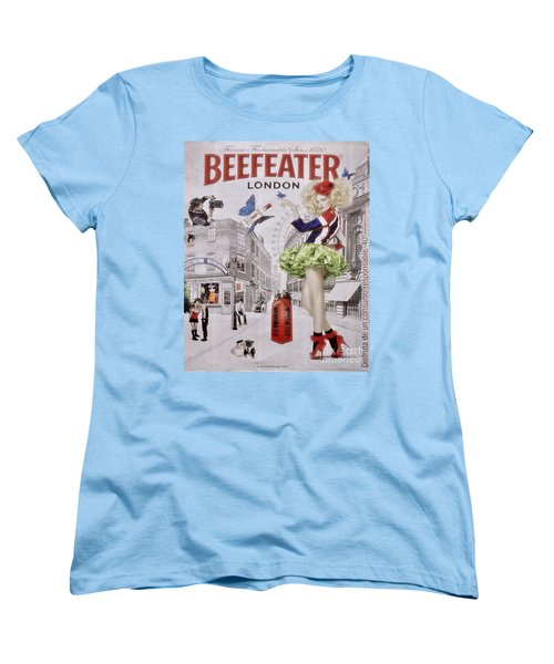 Beefeater Gin Women's T-Shirt (Standard Cut) by Mary Machare