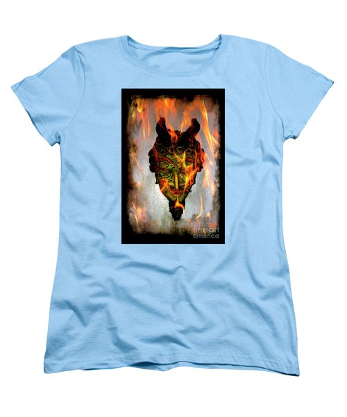 Women's T-Shirt (Standard Cut) featuring the photograph Beelzebub Iv by Al Bourassa