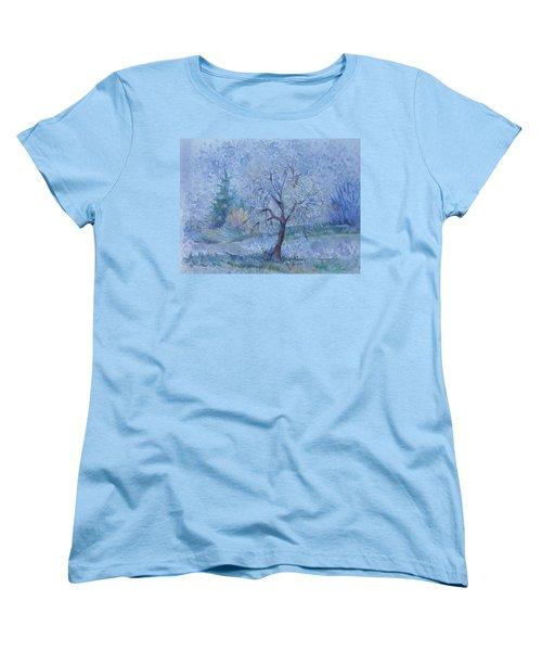 Begining Of Another Winter Women's T-Shirt (Standard Cut) by Anna  Duyunova