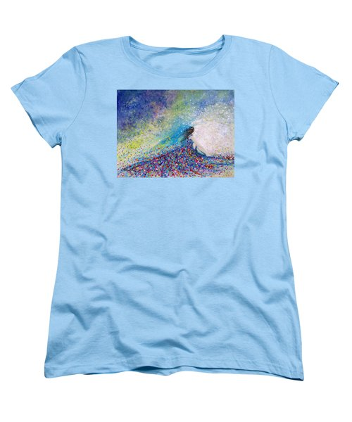 Being A Woman - #5 In A Daydream Women's T-Shirt (Standard Cut) by Kume Bryant