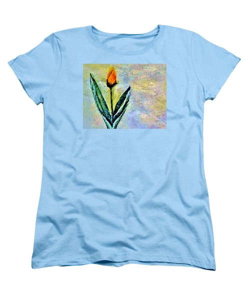 Being Single Women's T-Shirt (Standard Cut) by Lisa Kaiser
