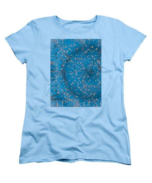 Bell-shaped Flowers Women's T-Shirt (Standard Cut) by Moustafa Al Hatter
