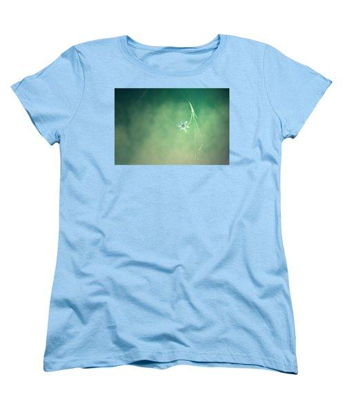 Women's T-Shirt (Standard Cut) featuring the photograph Below Summer  by Mark Ross