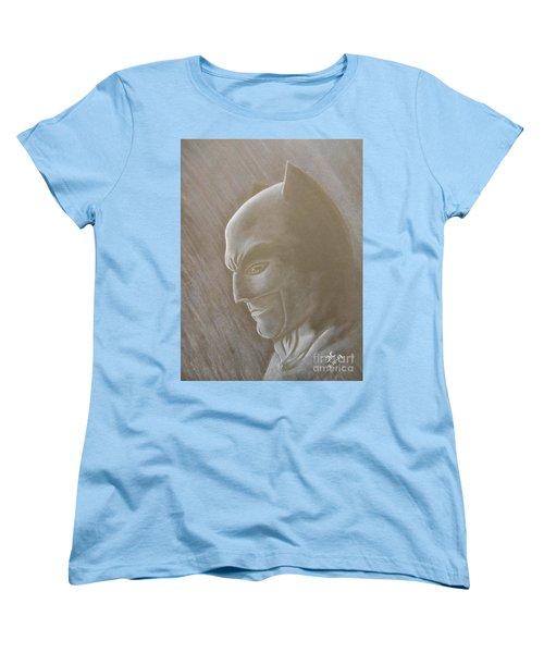 Ben As Batman Women's T-Shirt (Standard Cut) by Josetta Castner