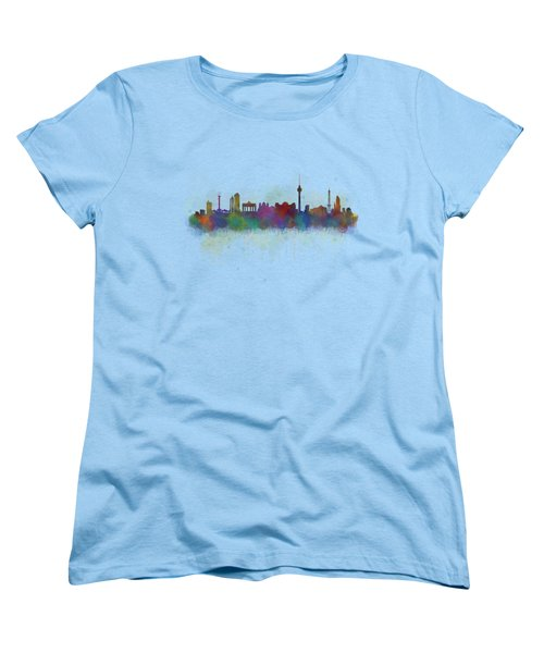 Berlin City Skyline Hq 5 Women's T-Shirt (Standard Cut) by HQ Photo