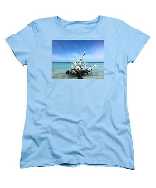 Beside Still Waters Women's T-Shirt (Standard Cut) by Margie Amberge
