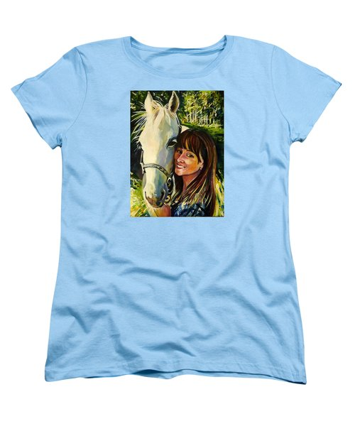 Best Buddies Women's T-Shirt (Standard Cut) by Anna  Duyunova