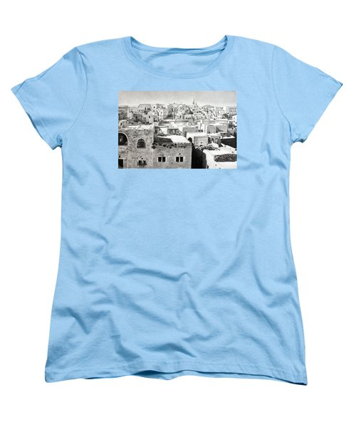 Bethlehem Old Town Women's T-Shirt (Standard Cut) by Munir Alawi