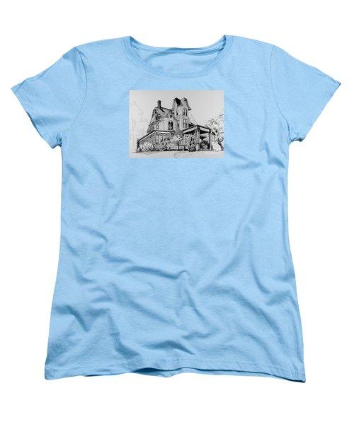 Betsy Ross' Home In Dover, N.j. Women's T-Shirt (Standard Cut) by Alan Johnson