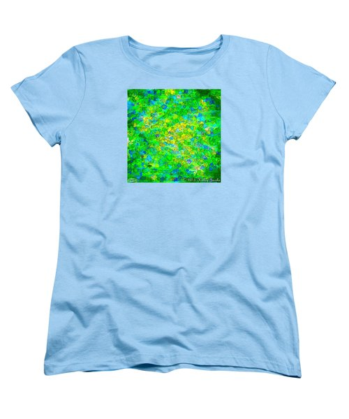 Women's T-Shirt (Standard Cut) featuring the painting Better Not Touch by Holley Jacobs