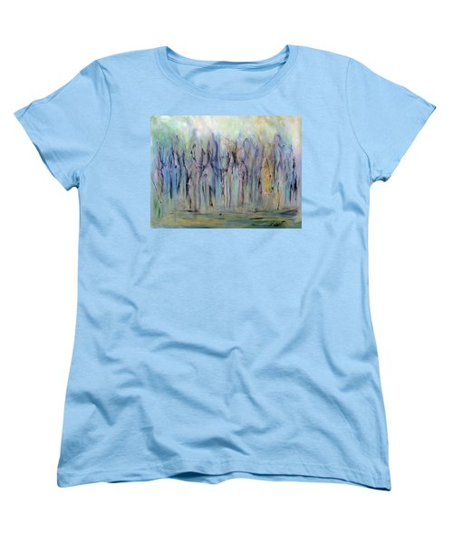Between Horse And Men Women's T-Shirt (Standard Cut) by Roberta Rotunda