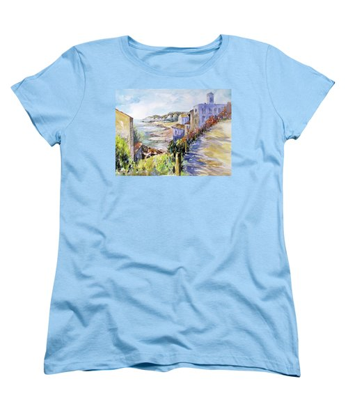 Beyond The Point Women's T-Shirt (Standard Cut) by Rae Andrews