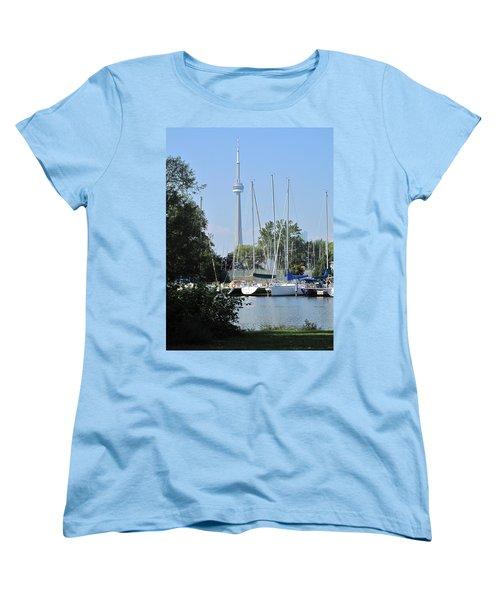 Beyond The Trees  Women's T-Shirt (Standard Cut) by Ian  MacDonald