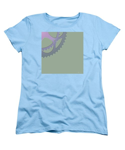 Bicycle Chain Ring - 4 Of 4 Women's T-Shirt (Standard Cut) by Serge Averbukh