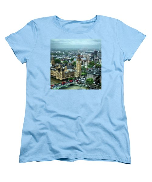Big Ben From The London Eye Women's T-Shirt (Standard Cut)